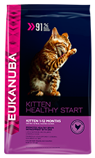 EUKANUBA Kitten Dry Cat Food Rich In Chicken With Liver RTP FOP
